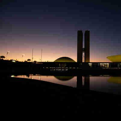 Fachada do Congresso Nacional, em Brasília, que abriga a Câmara dos Deputados e o Senado Federal