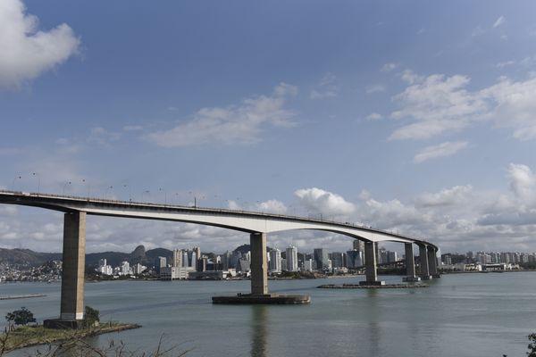Terceira Ponte completou 30 anos - Editoria: Cidades . Crédito: Vitor Jubini