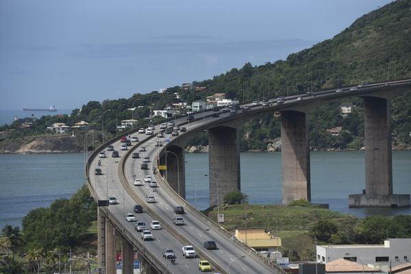 Terceira Ponte, em Vitória. Crédito: Vitor Jubini