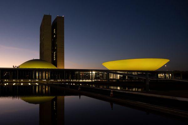 Fachada do Congresso Nacional, em Brasília, que abriga a Câmara dos Deputados e o Senado Federal. Crédito: Pedro França