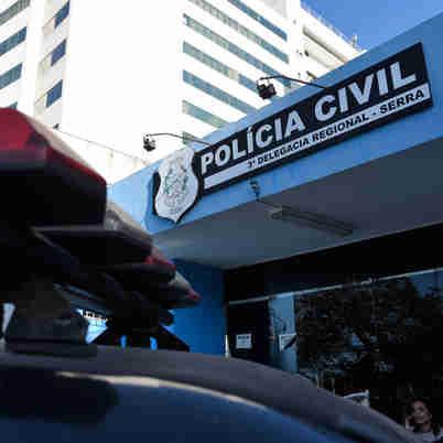 Data: 16/09/2019 - ES - Serra - Delegacia Regional de Laranjeiras - Viatura da Polícia Civil - Editoria: Cidades - Foto: Vitor Jubini - GZ