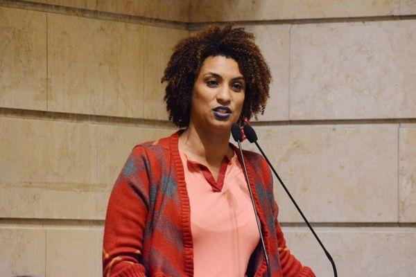 Marielle Franco. Crédito: Renan Olaz/ Câmara Municipal do Rio