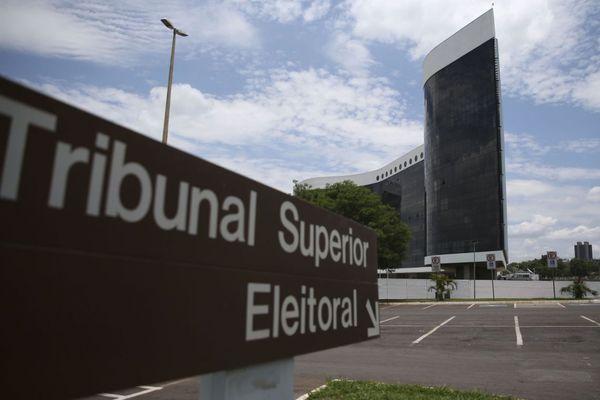 Tribunal Superior Eleitoral (TSE), em Brasília. Crédito: José Cruz/Agência Brasil