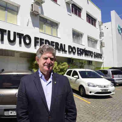 Data: 18/09/2019 - ES - Vitória - Jadir Pela, reitor do Ifes - Editoria: Cidades - Foto: Ricardo Medeiros - GZ