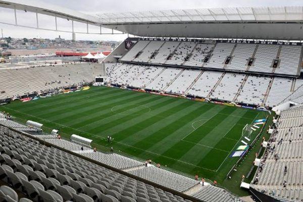 Arena Corinthians, em Itaquera. Crédito: Reprodução