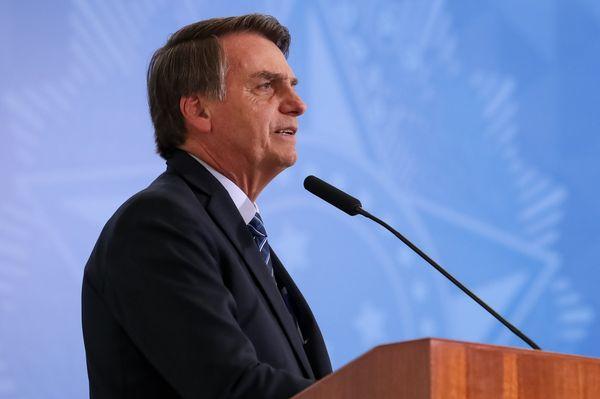 Bolsonaro em discurso na ONU. Crédito: Marcos Corrêa/PR