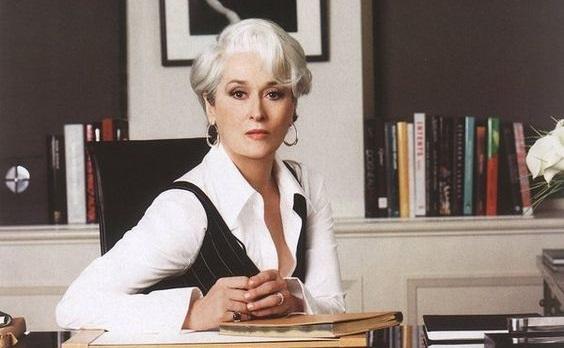 Meryl Streep interpretou Miranda Priestly em