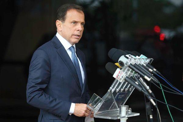 O governador de São Paulo, João Doria (PSDB), rebateu as declarações do presidente Jair Bolsonaro. Crédito: Fabio Rodrigues Pozzebom | Agência Brasil