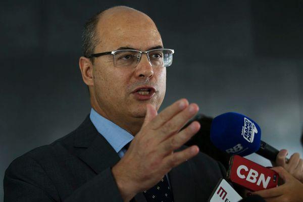 Wilson Witzel, atualmente governador do Rio de janeiro, almeja a presidência. Crédito: Antonio Cruz/Agência Brasil