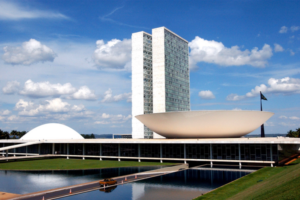 Brasília, sede do governo federal. Crédito: Divulgação