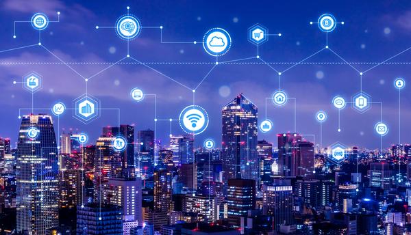 Cidades inteligentes e integradas por meio da tecnologia. Crédito: Divulgação