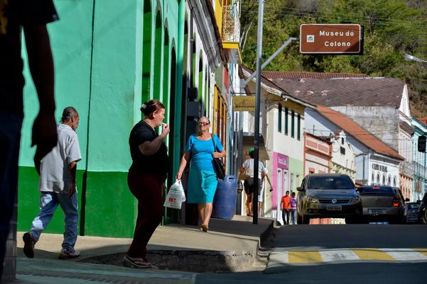A tranquilidade de Santa Leopoldina, uma das cidades que não teve homicídio no ES neste ano.. Crédito: Gazeta Online