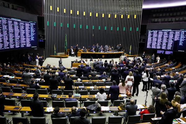 Câmara dos Deputados em sessão nesta terça-feira (1º). Crédito: Luis Macedo/Câmara dos Deputados