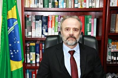 Procurador-chefe do MPF no ES, Edmar Gomes Machado. Crédito: Divulgação MPF/ES