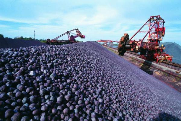 Minério de ferro. Crédito: Arquivo/AG