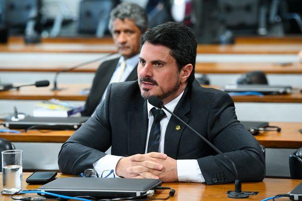 Senador Marcos do Val (Podemos-ES). Crédito: Marcos Oliveira