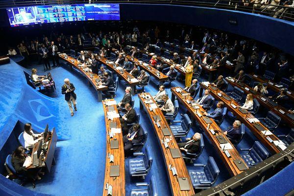 Plenário do Senado Federal. Crédito: Marcos Oliveira