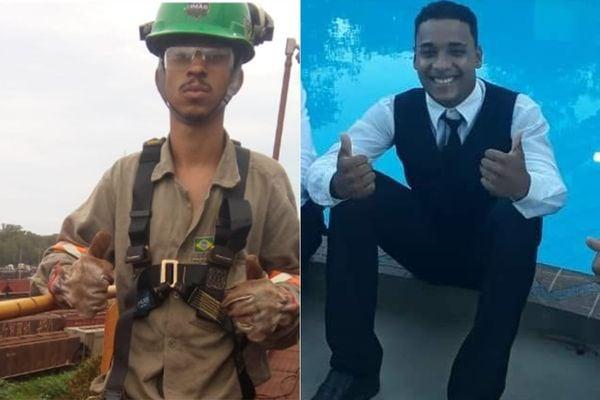 Douglas, 26 anos, e Natan, 19 anos, foram assassinados a tiros em Jardim Limoeiro, na Serra. Crédito: Reprodução