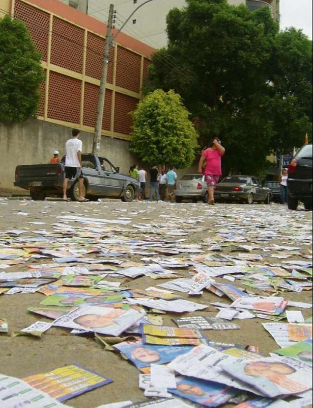 Recursos para campanha eleitoral de prefeitos e vereadores terá limite em 2020. Crédito: Nilo Tardin - Jornal A Gazeta