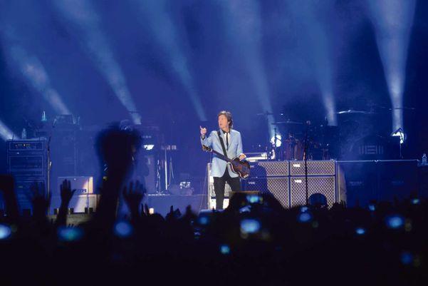 Show de Paul McCartney no estádio Kleber Andrade, em Cariacica