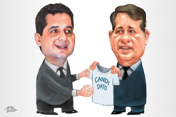 Gandini é aposta declarada de Luciano para sua sucessão em 2020. Crédito: Amarildo