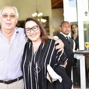 André Hees e Renata Rasseli