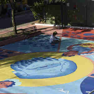 - Projeto Cidade Quintal pinta casas, escola e comércios na Ilha das Caieiras