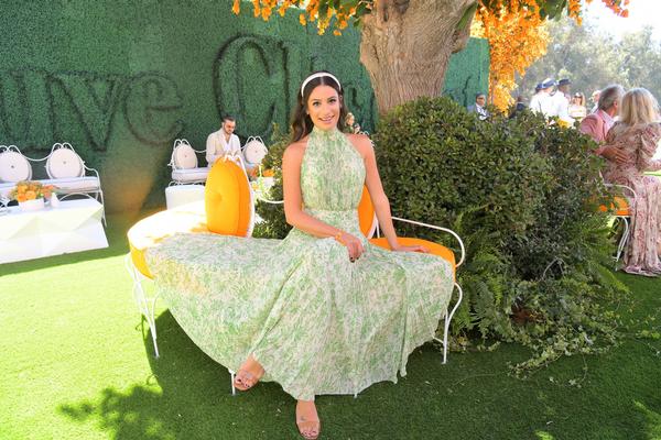 Lea Michele. Crédito: Veuve Clicquot