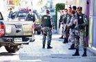 Homens da Força Nacional de Segurança tiveram que patrulhar as ruas de Vitória durante a greve da PMES, em fevereiro de 2017. Crédito: Fernando Madeira