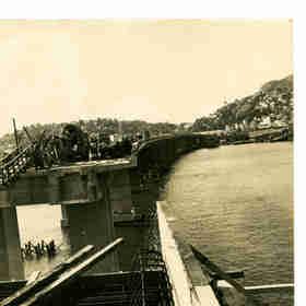 Em maio de 1979, as obras da Segunda Ponte chegavam à reta final