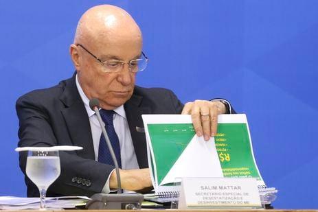 Secretário especial de Desestatização, Salim Mattar. Crédito: Arquivo/Agência Brasil