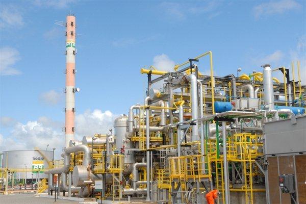 Unidade do gasoduto Cacimbas - Catu