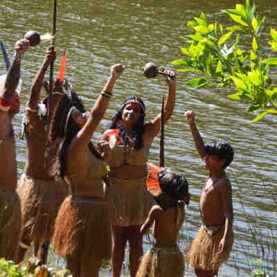 O evento acontece no próximo domingo (20), a partir das 9h, na aldeia Pau Brasil, em Aracruz