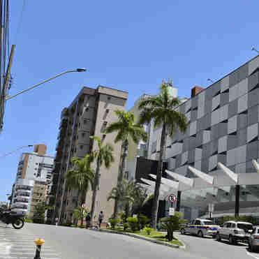 Data: 16/10/2019 - Vila Velha - ES - Fachada do Shopping Praia da Costa