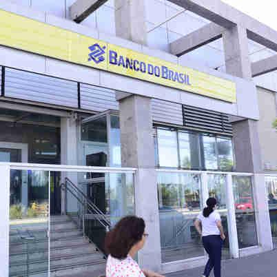Fachada do Banco do Brasil - Praia de Camburi - Vitória/ES
