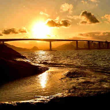 Data: 03/10/2019 - ES - Vila Velha - Pousada do Farol, em Vila Velha - Lugares para contemplar o pôr do sol - Editoria: Cidades - Foto: Fernando Madeira - GZ