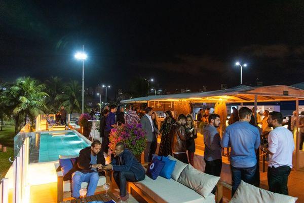 Barlavento Beach Bar & Lounge terá programações durante todo o feriado. Crédito: Monique Janutt