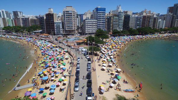 Areia Preta e Castanheiras, praias de Guarapari