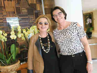 Beth Dalcolmo e Eulália Chieppe