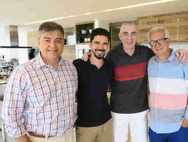 Gustavo Varella, Rodolfo Feliz, Décio Chieppe e Danilo Martins