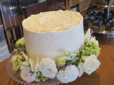 O bolo assinado pela chef Sylvia Lis