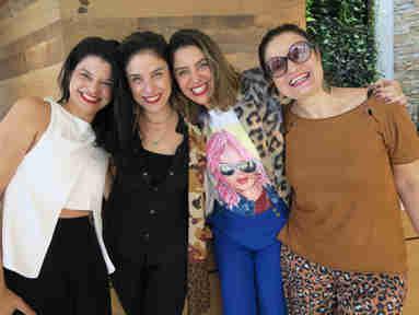 Zainer Silva, Izabel Braga, Mariana Perini e Rachel Martins