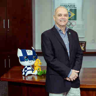 Paulo Wanderley construiu boa parte de sua carreira esportiva no Espírito Santo e hoje é presidente do COB
