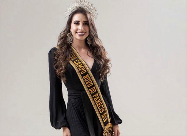 A Miss Mato Grosso Bruna Figueiredo. Crédito: Reprodução/Instagram