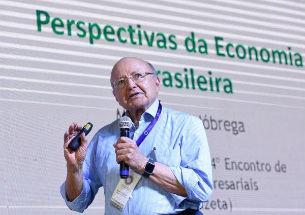 O economista Maílson da Nóbrega no Encontro de Lideranças. Crédito: Carlos Alberto Silva
