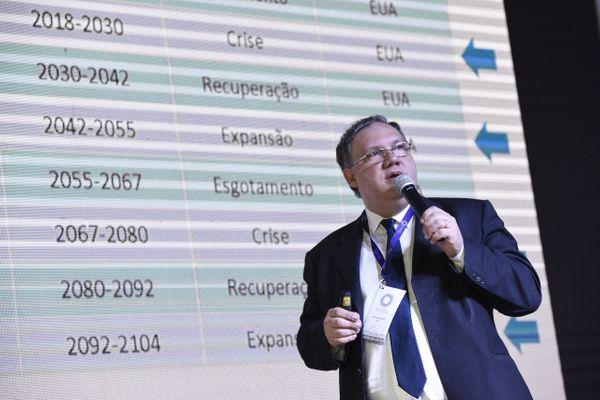 Paulo Vicente no Encontro de Lideranças. Crédito: Carlos Alberto Silva