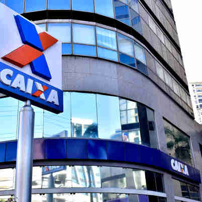 Data: 28/10/2019 - ES - Vitória - Agência da Caixa Econômica, na Avenida Reta da Penha, em Vitória - Editoria: Economia