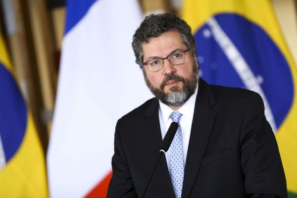 O ministro das Relações Exteriores, Ernesto Araújo. Crédito: Marcelo Camargo/Agência Brasil