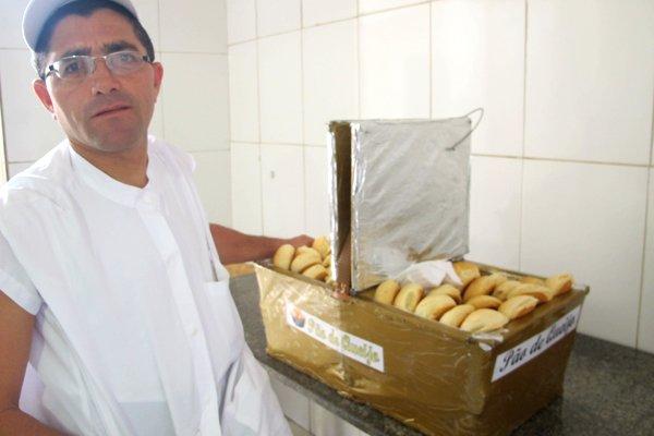 Davi de Jesus, conhecido como Tio do Pão de Queijo. Crédito: Bárbara Oliveira