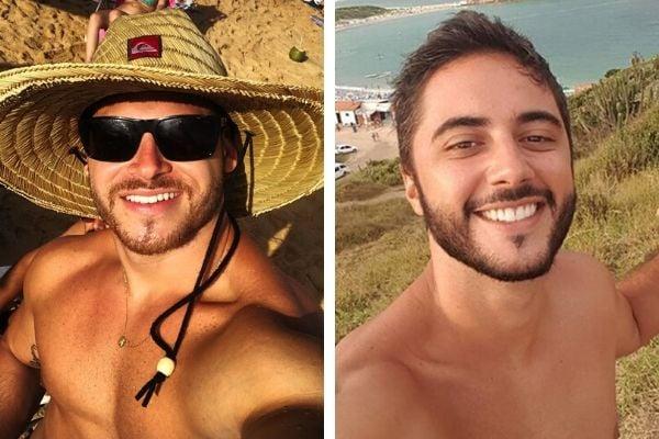 Matheus Nunes Fardin e Gustavo Fracarolli morreram em um acidente na Dante Michelini. Crédito: Reprodução/Instagram